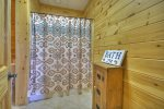 Blue Jay Cabin - Lower Level Bathroom
