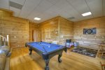 Blue Jay Cabin - Lower Level Pool Table Dart Board Not Available