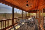 Blue Jay Cabin - Outdoor Seating