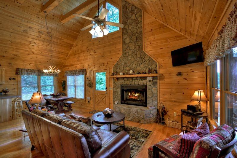 Sunset Pines Ridge In Blue Ridge North Ga Cabin Rental