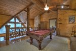 Reel Creek Lodge - Upper Level Pool Table