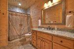 Alpine Ridge - Lower Level Bathroom
