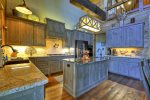 Rustic Elegance - Fully Equipped Kitchen