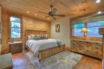 Rustic Elegance - Master King Bedroom