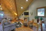 Rustic Elegance - Upper Level Loft Area w/ Flat Screen TV