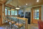 Rustic Elegance - Lower Level Kitchen