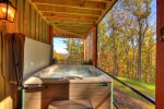 Rustic Elegance - Hot Tub