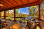 Rustic Elegance - Screened-In Deck w/ Gas Grill and Outdoor Seating