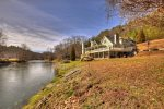 Riverbend - Exterior Side w/ View of Toccoa River