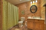 Black Bear Bungalow - Lower Level Full Bathroom