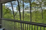 Black Bear Bungalow - Upper Deck View