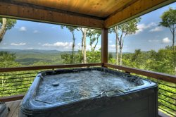 New Heights - Sweeping Mountain Views await, only two miles from Downtown Blue Ridge, GA