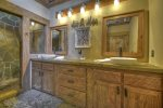 Master Suite Private Bathroom/Shower/Wtaerfall
