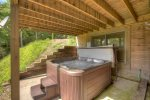 Lower Level Hot Tub