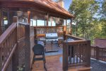 Fraggle Rock - Outdoor Grill Just Off Covered/Screened Porch