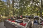 Sipping Rise - Back Deck Seating Area