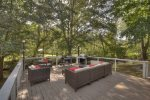 Sipping Rise - Back Deck Creek View