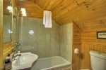 Happy Trout Hideaway - Upper Level Balcony View
