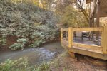 Happy Trout Hideaway - Entry Level Deck View
