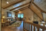Deer Trails - Upper Level Loft Area