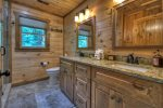 Deer Trails - Upper Level Full Bathroom