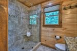 Deer Trails - Upper Level Tile Shower