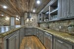 A Stoney River - Lower Level Fully Equipped Kitchen