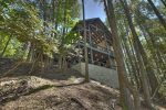 A Stoney River - Basketball Goal and Garage leading to Game Room