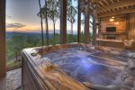 Martini Mountain Chalet - Lower Level Deck Hot Tub