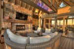 Martini Mountain Chalet - Custom Lit Staircase