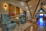 Martini Mountain Chalet - Upper Level Private King Master Suite