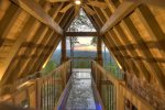 Martini Mountain Chalet - Upper Private Master Suite Balcony
