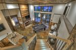 Martini Mountain Chalet - Lower Level Billiard Room with Wet Bar