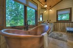 Martini Mountain Chalet - Lower Level Billiard Room with Wet Bar and Seating