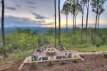 Martini Mountain Chalet - Fire Pit with View