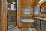 Moonlight Lodge - Upper Level Master Bath