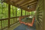 A Breath of Fresh Air - Entry Level Deck Dining Area