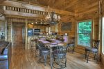 Panoramic Paradise - Entry Level Dining and Common Space