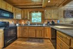 Panoramic Paradise - Entry Level Fully Equipped Kitchen with Bar Seating