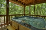 Serendipity - Hot Tub on Entry Level Screened-in Deck