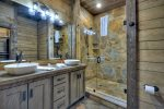 Nottely Island Retreat - Carriage House Full Bathroom