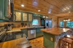 Whippoorwill Calling - Entry Level Dining Area