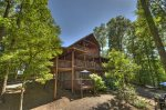 Whippoorwill Calling - Private Hot Tub Entry Level Deck