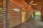 Whippoorwill Calling - Main Level Deck