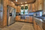 Once In A Blue Ridge - Fully Equipped Kitchen