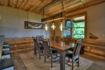 Once In A Blue Ridge - Dining Area