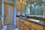Once In A Blue Ridge - Main Level Master Full Bathroom