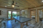 Once In A Blue Ridge - Lower Level Ping Pong/ Pool Table