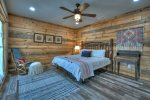 Once In A Blue Ridge - Lower Level King Bedroom