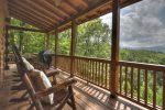 Bearadise - Porch Seating and View